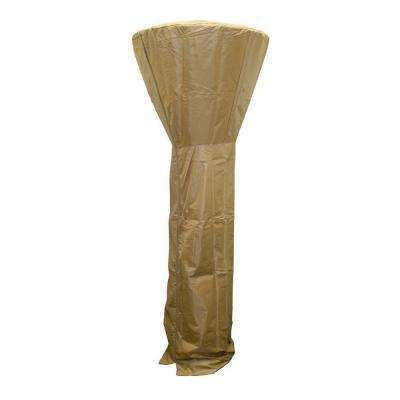 Tan/Camel Tall Durable All Season Waterproof UV Protected Heater Cover