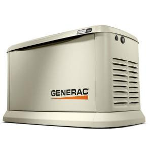 Generac 22,000-Watt (LP)/19,500-Watt (NG) Air Cooled Standby Generator by Generac