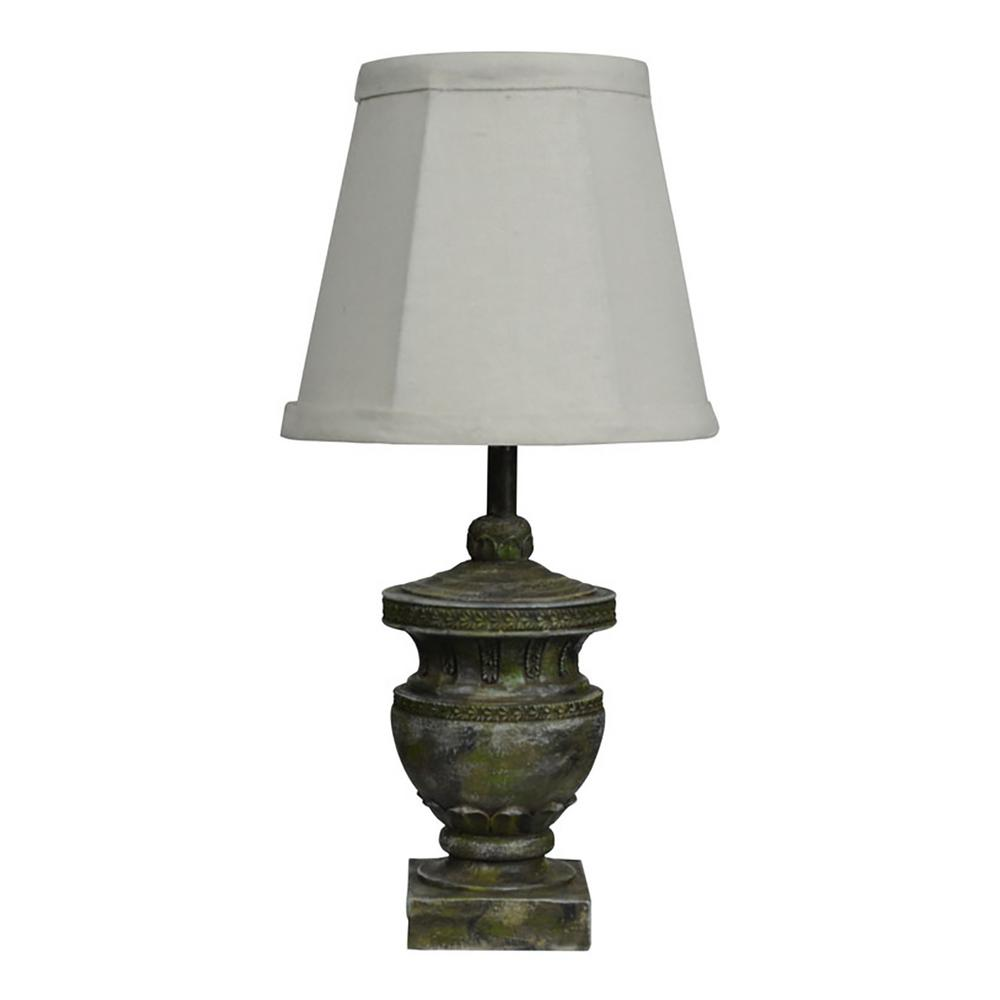 12 in. Multi-Colored Table Lamp