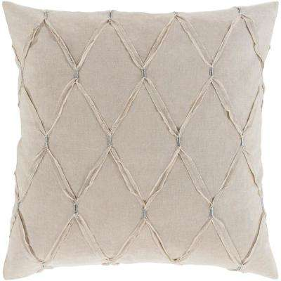 Alisa Light Gray Euro Sham