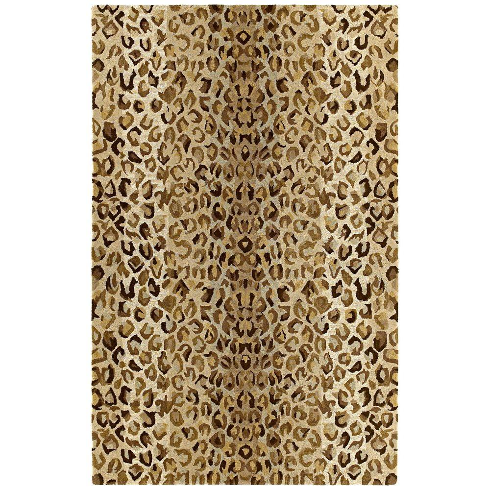Khazana Ashanti Mocha 5 ft. x 7 ft. 9 in. Area