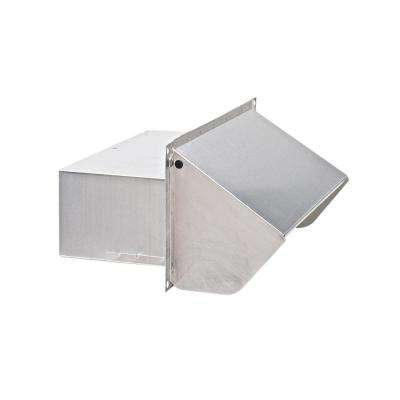 Aluminum Wall Cap for 3-1/4 in. x 10 in. Duct for Range Hoods and Bathroom Exhaust Fans