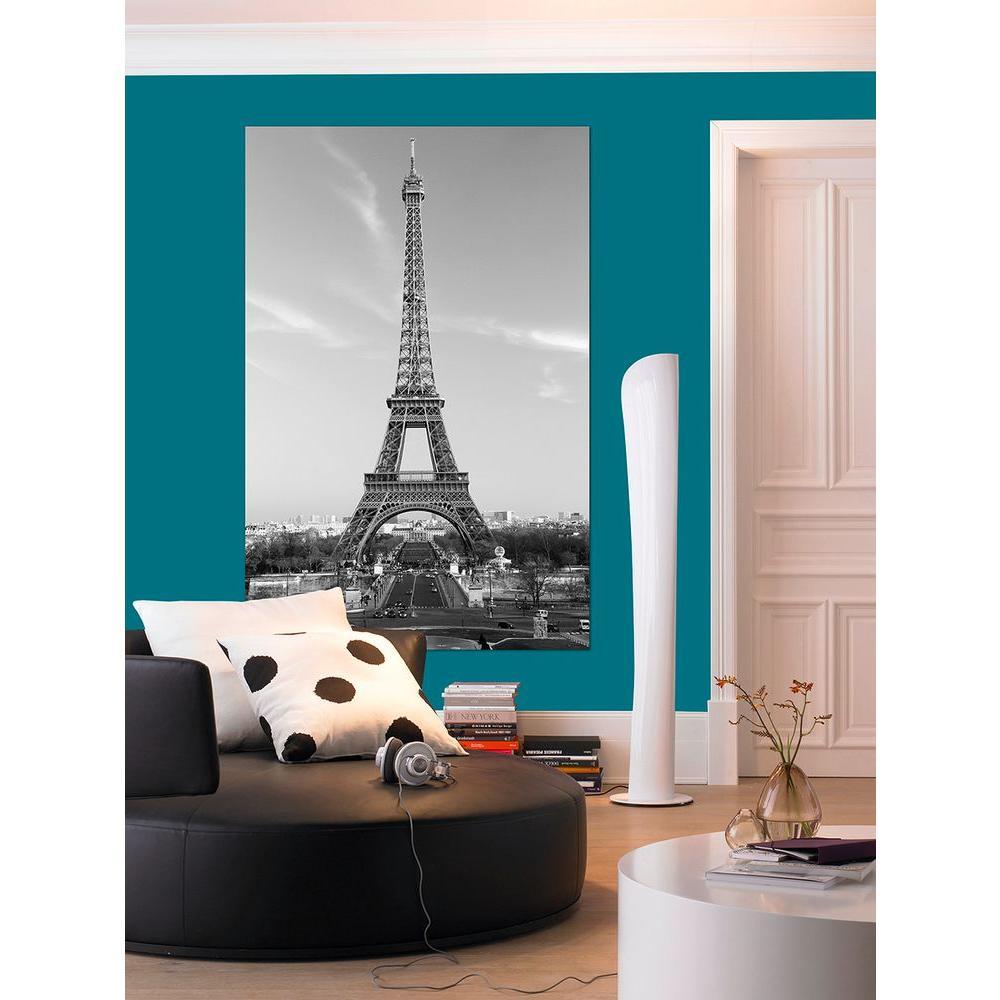 45 in. H x 69 in. W La Tour Eiffel Wall
