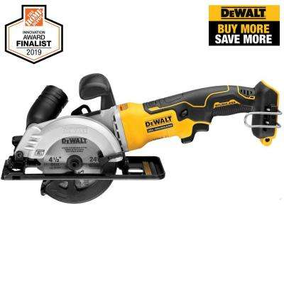 ATOMIC 20-Volt MAX Cordless 4-1/2 in. Circular Saw (Tool-Only)