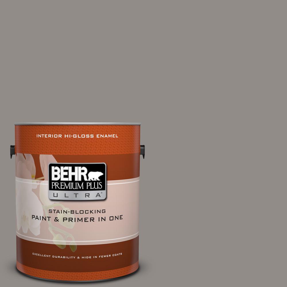 1 gal. #790F-4 Creek Bend Hi-Gloss Enamel Interior Paint