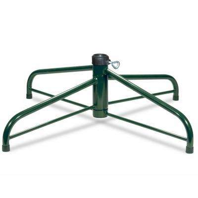 32 in. Folding Tree Stand for 9 ft. to 12 ft. Trees 2 in. Pole