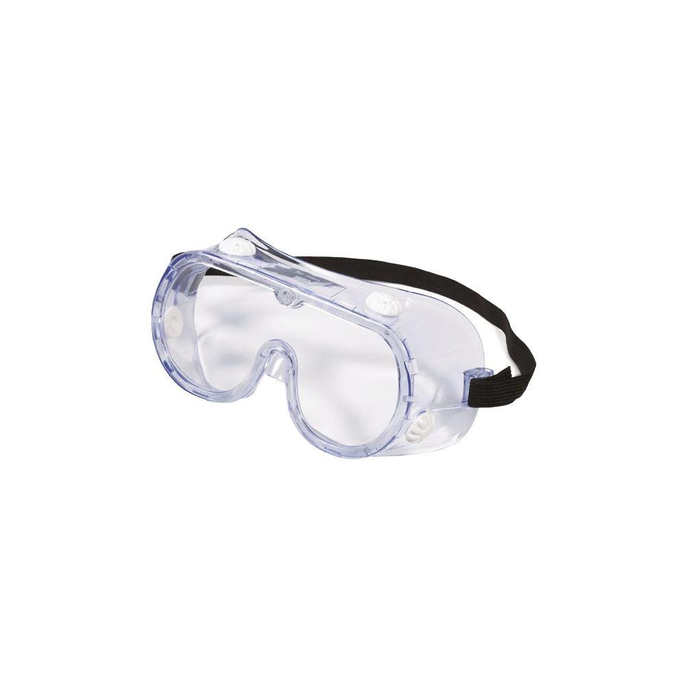 3M Chemical Splash Impact Safety Goggle-91252-80025 - The Home Depot