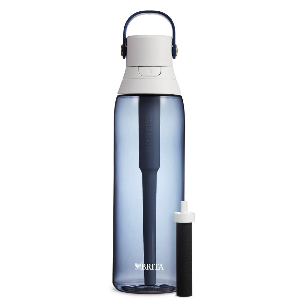 Brita Premium 26 oz  Night Sky Filtering Water Bottle, BPA Free