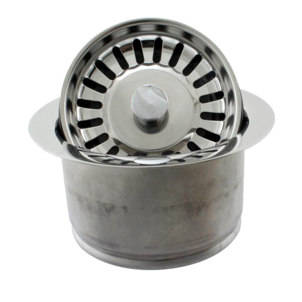 Westbrass Extra-Deep Disposal flange and Stopper for ISE Disposal