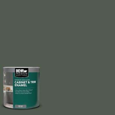 1 qt. #N410-7 North Woods Semi-Gloss Enamel Interior Cabinet and Trim Paint