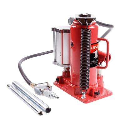 12-Ton Air/Hydraulic Bottle Jack