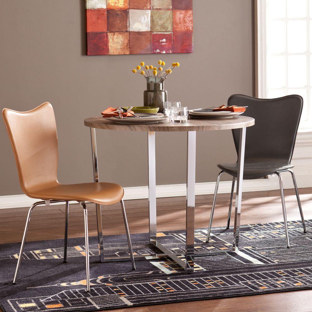 Celia Sun-Bleached Gray Dining Table