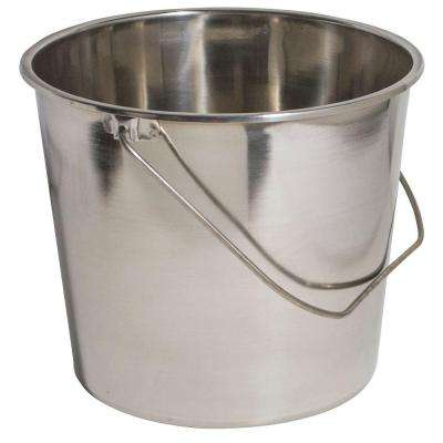 Extra Large Stainless Steel Bucket Set (3-Pack)