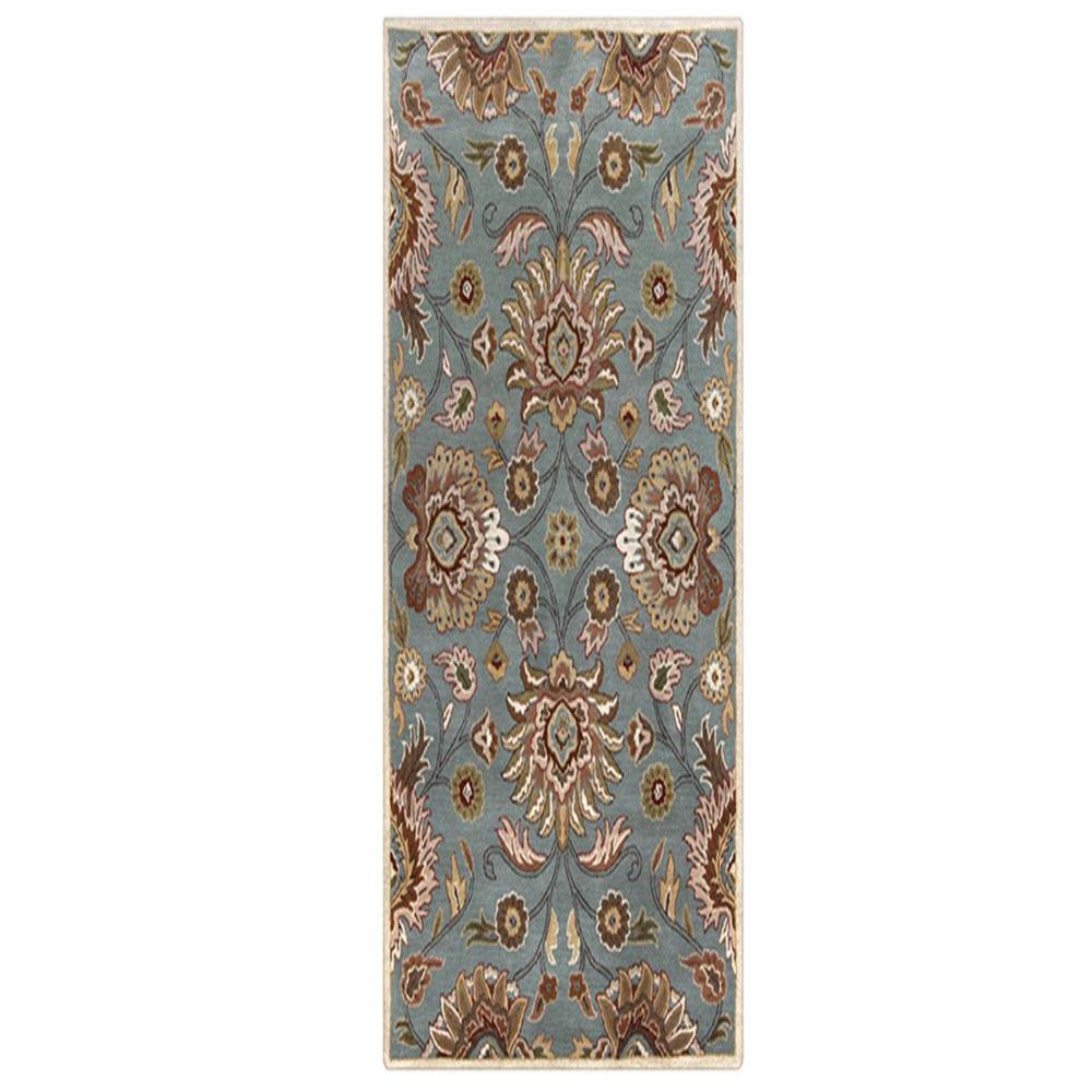 Home decorators collection echelon blue 2 ft 6 in x 8 ft for Home decorators rugs blue