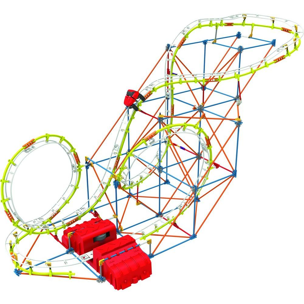 K'NEX Supernova Blast Roller Coaster Play Set