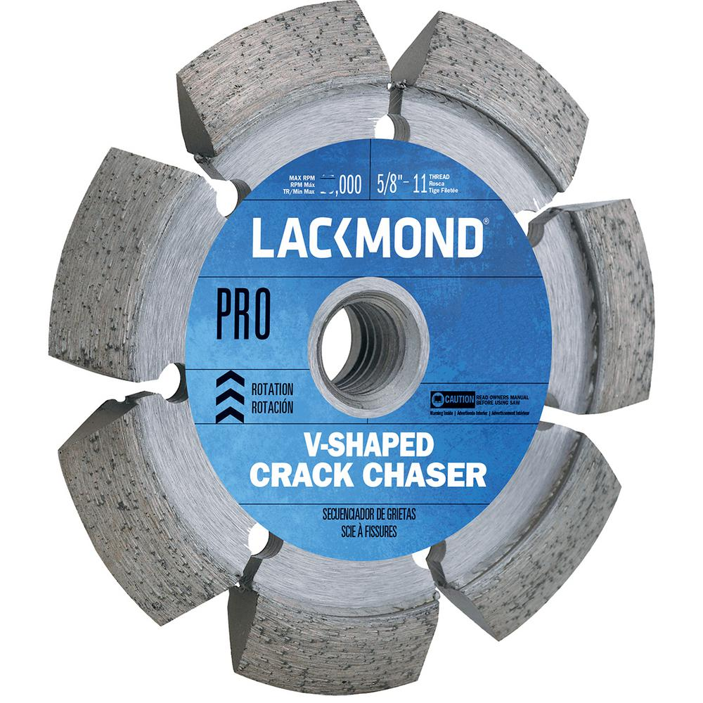 Lackmond 7 in. Crack Chaser Wheel with 5/8 in. -11 Nut