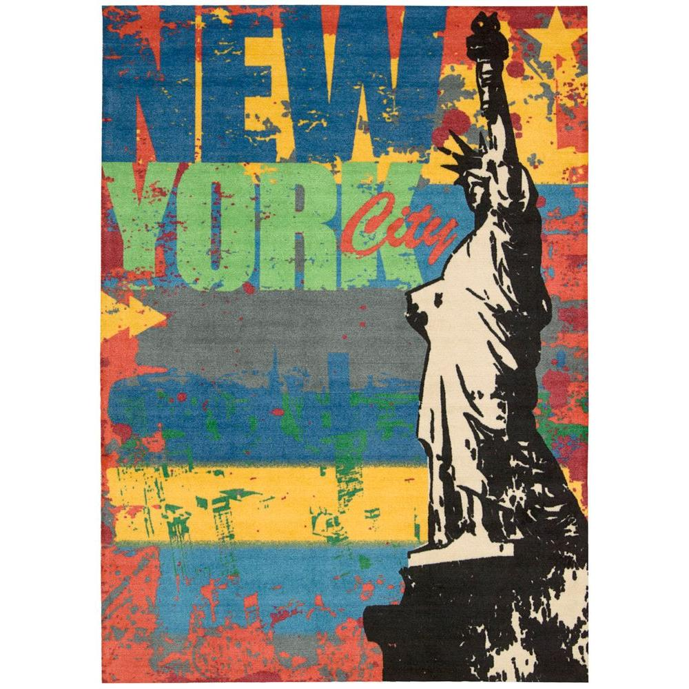 Altered States Liberty Multicolor 5 ft. x 7 ft. Area Rug