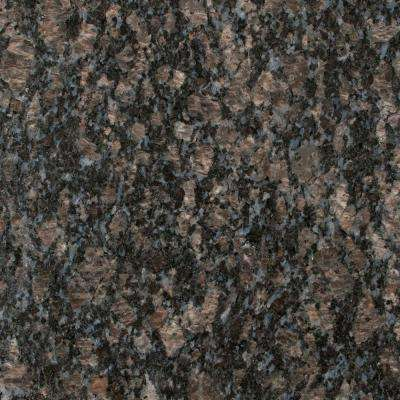 3 in. x 3 in. Granite Countertop Sample in Sapphire Blue