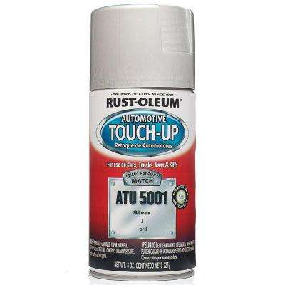 8 oz. Silver Auto Touch-Up Spray (6-Pack)