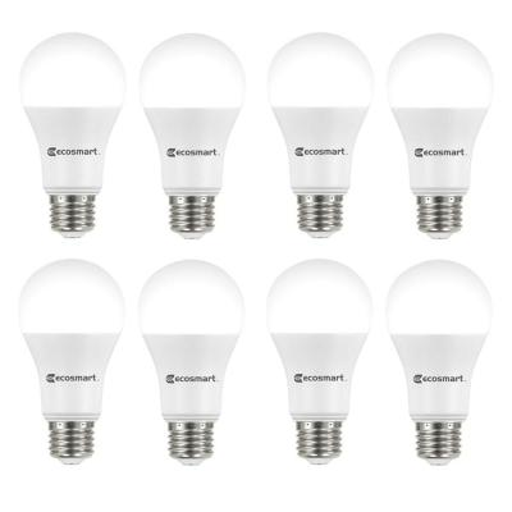 100-Watt Equivalent A19 Dimmable ENERGY STAR LED Light Bulb Bright White (8-Pack)