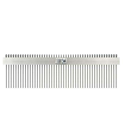 24 in. Concrete Texture Comb Brush with 3/4 in. Center
