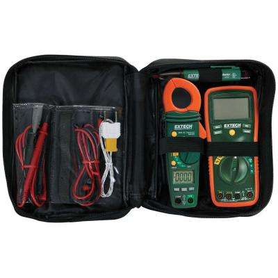 Manual Clamp Meter Electrical Test Kit