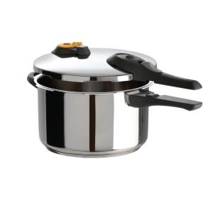 Click here to buy T-Fal Ultimate 6 Qt. Pressure Cooker in Stainless Steel by T-Fal.