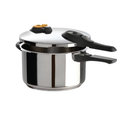 Ultimate 6 Qt. Pressure Cooker in Stainless Steel