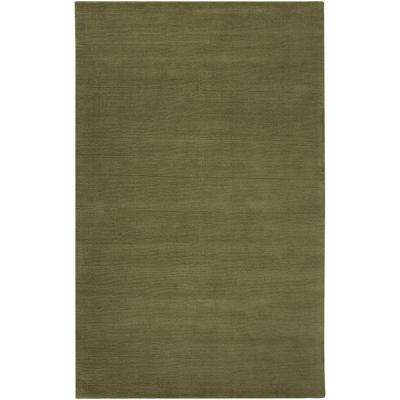 Falmouth Olive 7 ft. 6 in. x 9 ft. 6 in. Indoor Area Rug