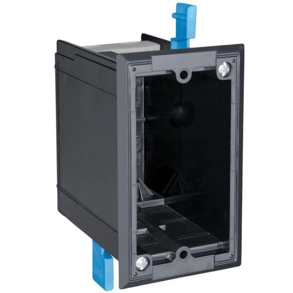 1-Gang 18 cu. in. Old Work Draft-Tight Electrical Box