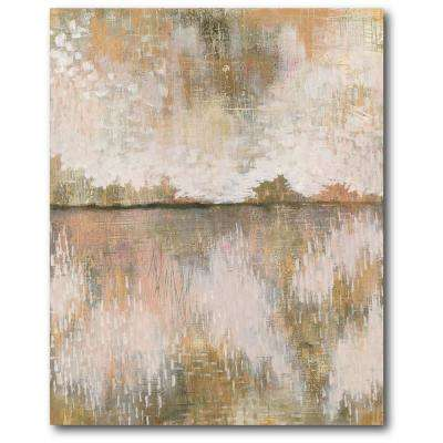 "30 in. x 40 in. ""Curious Sky Neutral"" Gallery Wrapped Canvas Printed Wall Art"