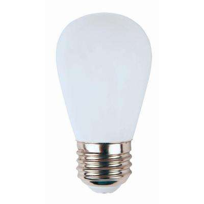 11W Equivalent Bright White (3000K) S14 Non-Dimmable LED Replacement Light Bulb