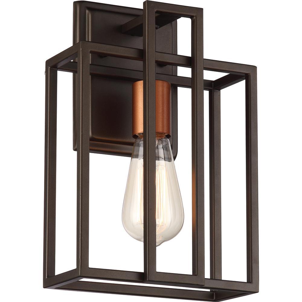 1-Light Bronze Bath Light