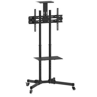 Multi-Functional TV Cart/Trolley with Camera Shelf