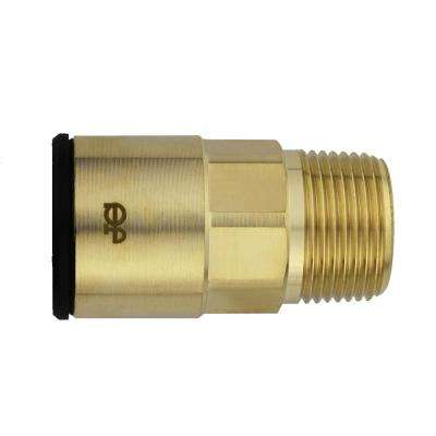 3/4 in. CTS x 3/4 in. NPT Brass ProLock Push-to-Connect Male Connector (5-Pack)