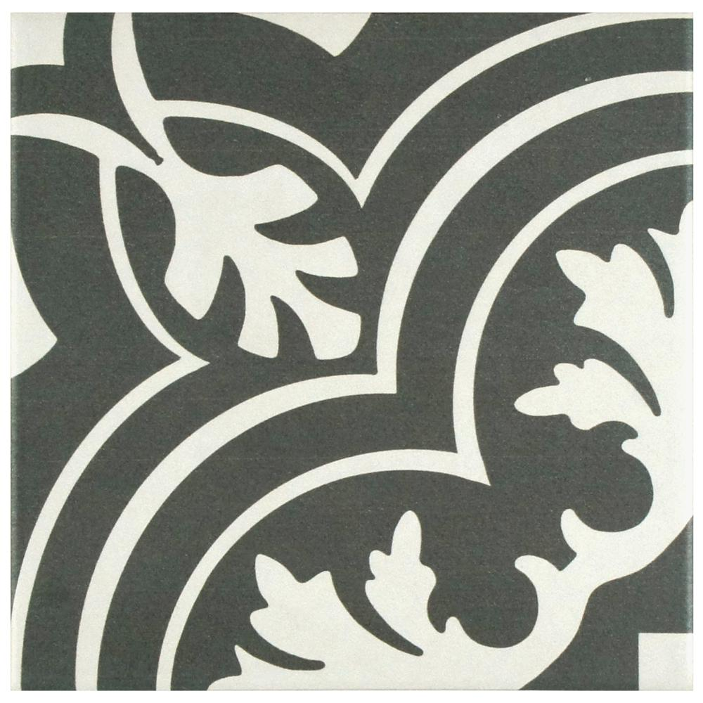 Twenties Classic Ceramic Floor and Wall Tile - 7-3/4 in. x