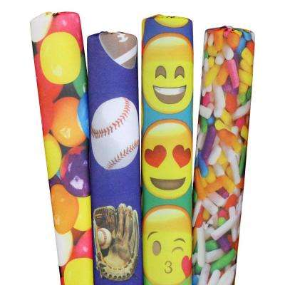 Sprinkles, Sports, Emojis and Gumballs Pool Noodles (4-Pack)