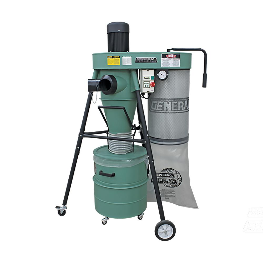 1.5 HP Mobile 2-Stage Dust Collector