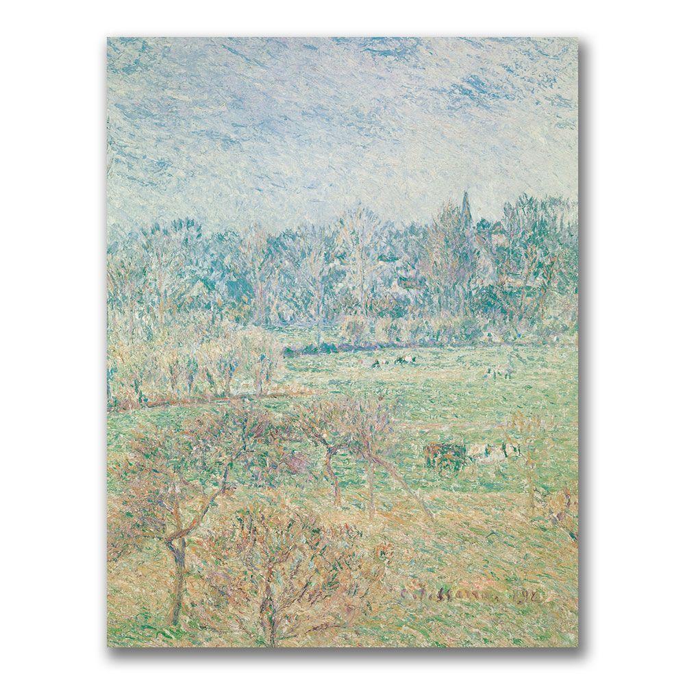 Trademark Fine Art 24 in. x 32 in. Autumn Morning Canvas Art