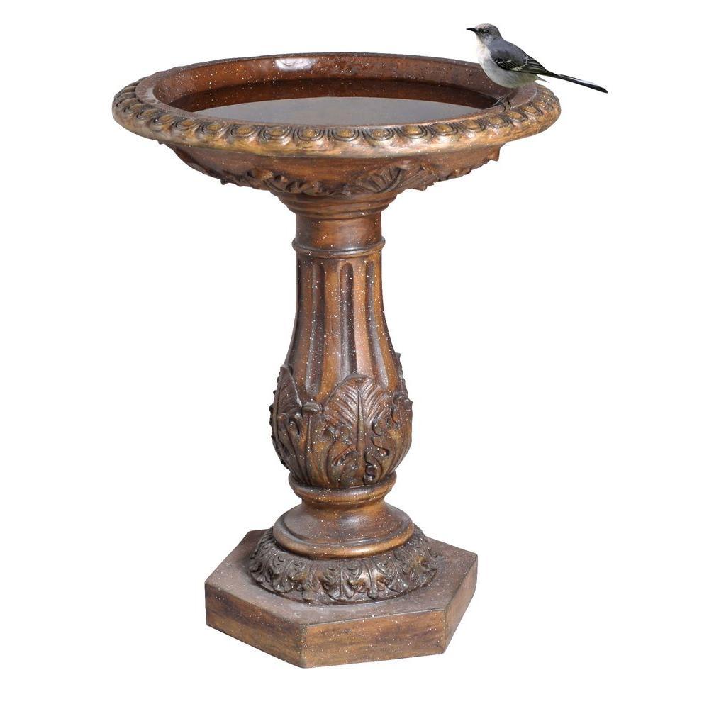 Torrie Birdbath Y97030 The Home Depot