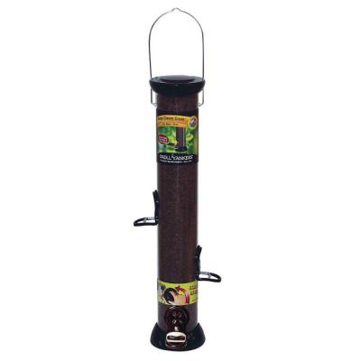 Onyx Clever Clean Finch 2 lbs. Polycarbonate Thistle Tube Bird Feeder 4-Ports