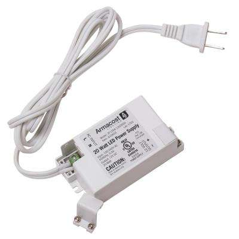 20-Watt Standard LED Driver, 12-Volt DC Power Supply for LED Tape Light Strips and other LED 12-Volt Lighting