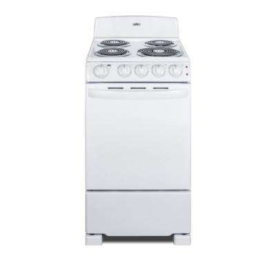 20 In Freestanding Electric Ranges