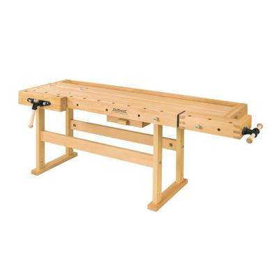 Plus 6 ft. and 3 in. Workbench