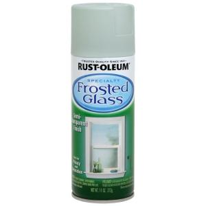 Rust Oleum Specialty 11 Oz Sea Glass Frosted Glass Spray