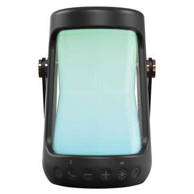 Splashproof Sandproof Color Changing Portable Bluetooth Rechargeable Lantern Speaker with USB Power Bank