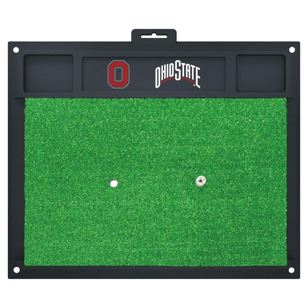 NCAA Ohio State University 17 in. x 20 in. Golf Hitting