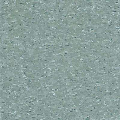 Take Home Sample - Imperial Texture VCT Silver Green Standard Excelon Commercial Vinyl Tile - 6 in. x 6 in.