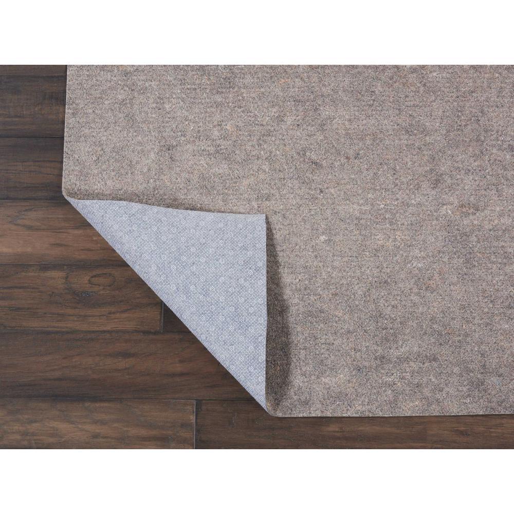 Rug-Loc Basic Cushion 5 ft. x 5 ft. Grey Round Rug Pad