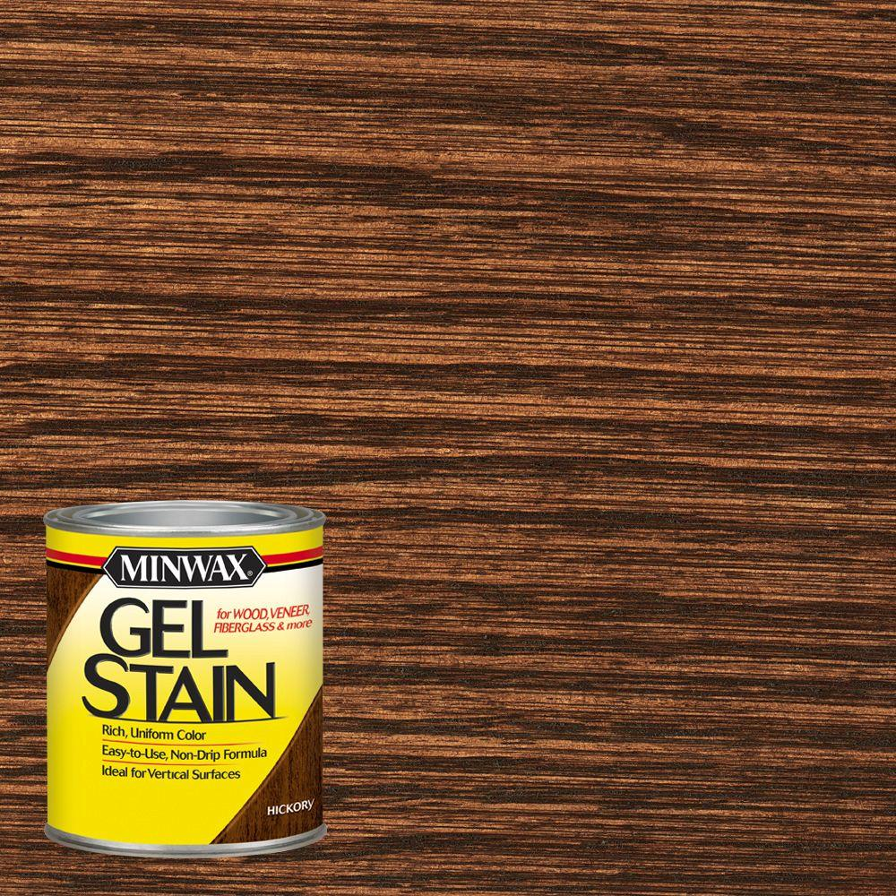 Hickory Gel Stain 66100   The Home Depot